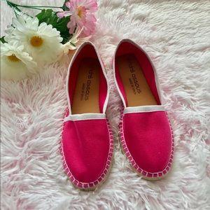 André Assous Pink Canvas Shoes